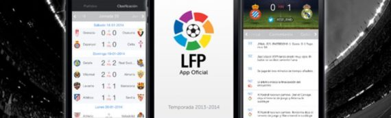 Aspectos técnicos de la aplicación para móvil de la Liga de Fútbol